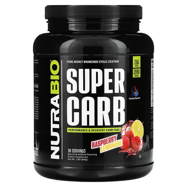 Super Carb, Raspberry Lemonade, 1.8 lb (834 g)