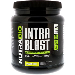 NutraBio Labs, Intra Blast, Passion Fruit, 1.6 lb (718 g)