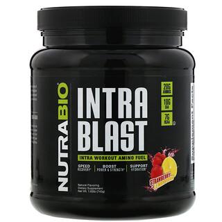 NutraBio Labs, Intra Blast, Energizante de aminoácidos para intraentrenamiento, 740g (1,63lb)