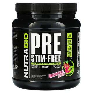 NutraBio Labs, PRE-Workout, Stim-Free, Dragonfruit Candy,  1.3 lb (573 g)