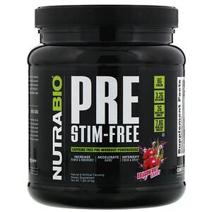 NutraBio Labs, PRE-Workout, Stim-Free, Dragonfruit Candy,  1.3 lb (573 g) отзывы