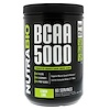 NutraBio Labs, BCAA 5000, Lemon Lime, 0.82 lb (372 g)