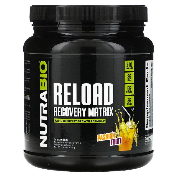 Reload Recovery Matrix, Passion Fruit, 1.83 lb (831 g)