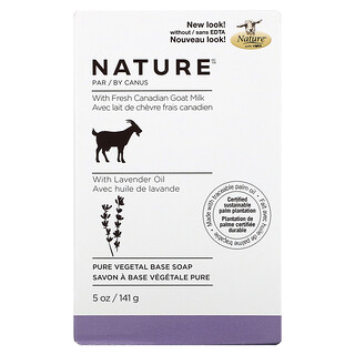 Nature by Canus, Fresh Goat Milk, Soap Bar, Lavender Oil, 5 oz (141 g)