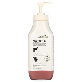 Nature by Canus, Fresh Goat Milk, Creamy Body Lotion, Shea Butter, 11.8 fl oz (350 ml)