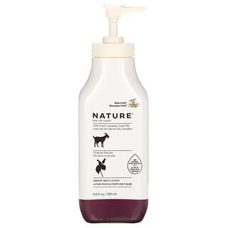 Nature by Canus, Fresh Goat Milk, Creamy Body Lotion, Original, 11.8 fl oz (350 ml)