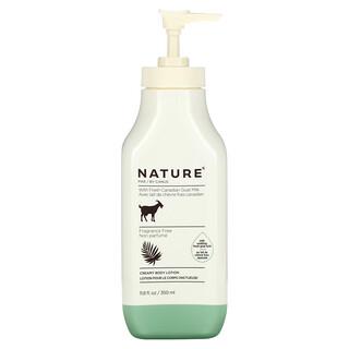 Nature by Canus, Fresh Goat Milk, Creamy Body Lotion, Fragrance Free, 11.8 fl oz (350 ml)