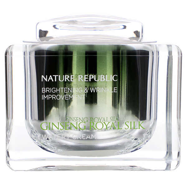 Nature Republic, Ginseng Royal Silk, Watery Cream, 2.11 oz (60 g) (Discontinued Item)