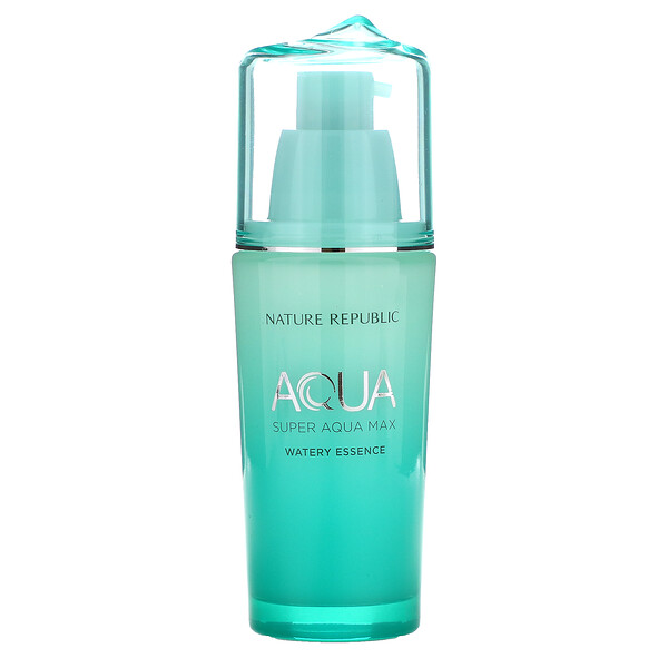 Nature Republic, Super Aqua Max, Watery Essence, 1.42 fl oz (42 ml)