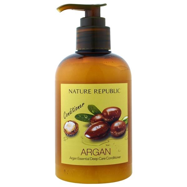 Nature Republic, Argan Essential Deep Care Conditioner, 10.13 fl oz (300 ml) (Discontinued Item)