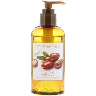 Nature Republic, Argan Essential Deep Care Shampoo, 10.13 fl oz (300 ml)