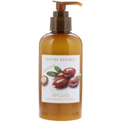 Nature Republic Argan Essential Deep Care Conditioner, 10.13 fl oz (300 ml)  - купить со скидкой