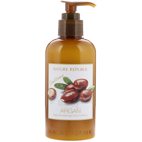 Argan Essential Deep Care Conditioner, 10.13 fl oz (300 ml)