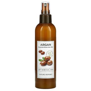 Nature Republic, Argan Essential Moist Hair Mist, 7.43 fl oz (220 ml)