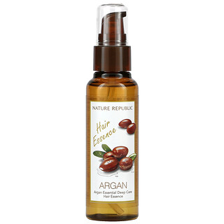 Nature Republic, Argan Essential Deep Care Hair Essence, 2.70 fl oz (80 ml)