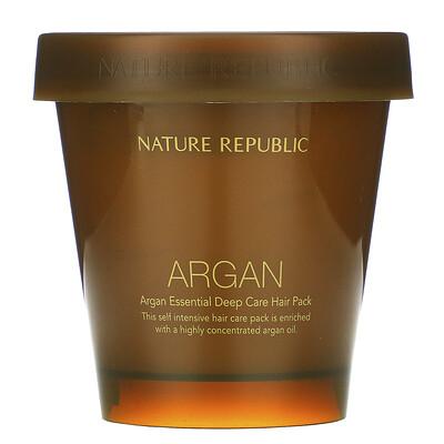 Купить Nature Republic маска для интенсивного восстановления волос, с аргановым маслом, 200мл (6, 76жидк.унции)