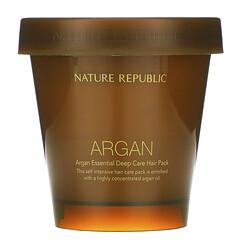 Nature Republic, 摩洛哥堅果油深層滋養髮膜,6.76 液量盎司(200 毫升)