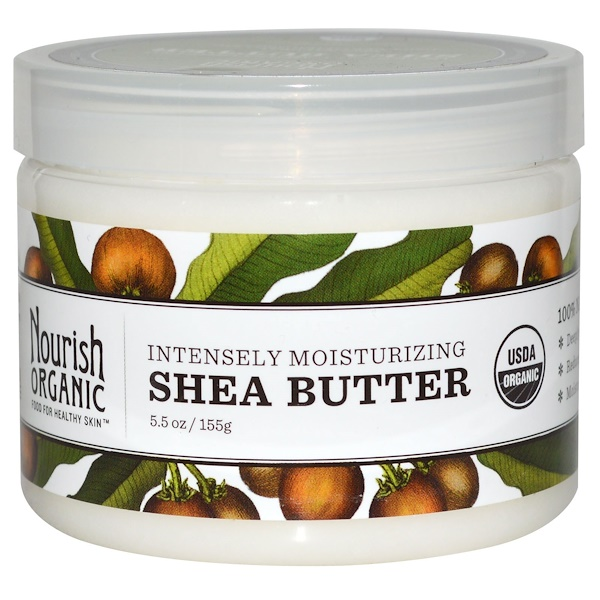 Nourish Organic, Intensely Moisturizing Shea Butter, 5.5 oz (155 g)