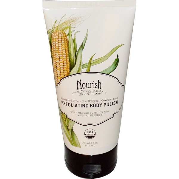 Nourish Organic, Exfoliating Body Polish, 6 fl oz (177 ml) (Discontinued Item)