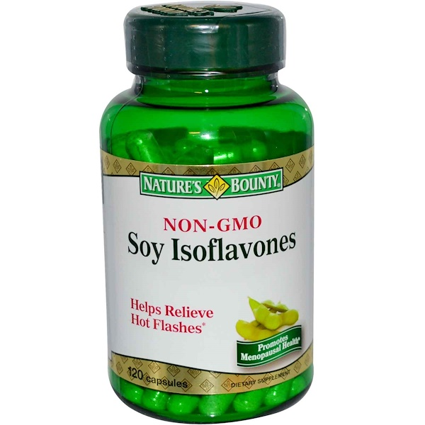 Nature's Bounty, Soy Isoflavones, 120 Capsules (Discontinued Item)