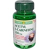 Nature's Bounty, Acetyl L-Carnitine, 250 mg, 30 Capsules (Discontinued Item)