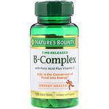 Отзывы о Nature's Bounty, B-комплекс, Time Released, 125 таблеток, покрытых оболочкой