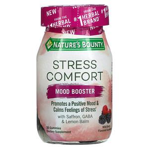 Nature's Bounty, Stress Comfort, Mood Booster, Wild Berry, 36 Gummies