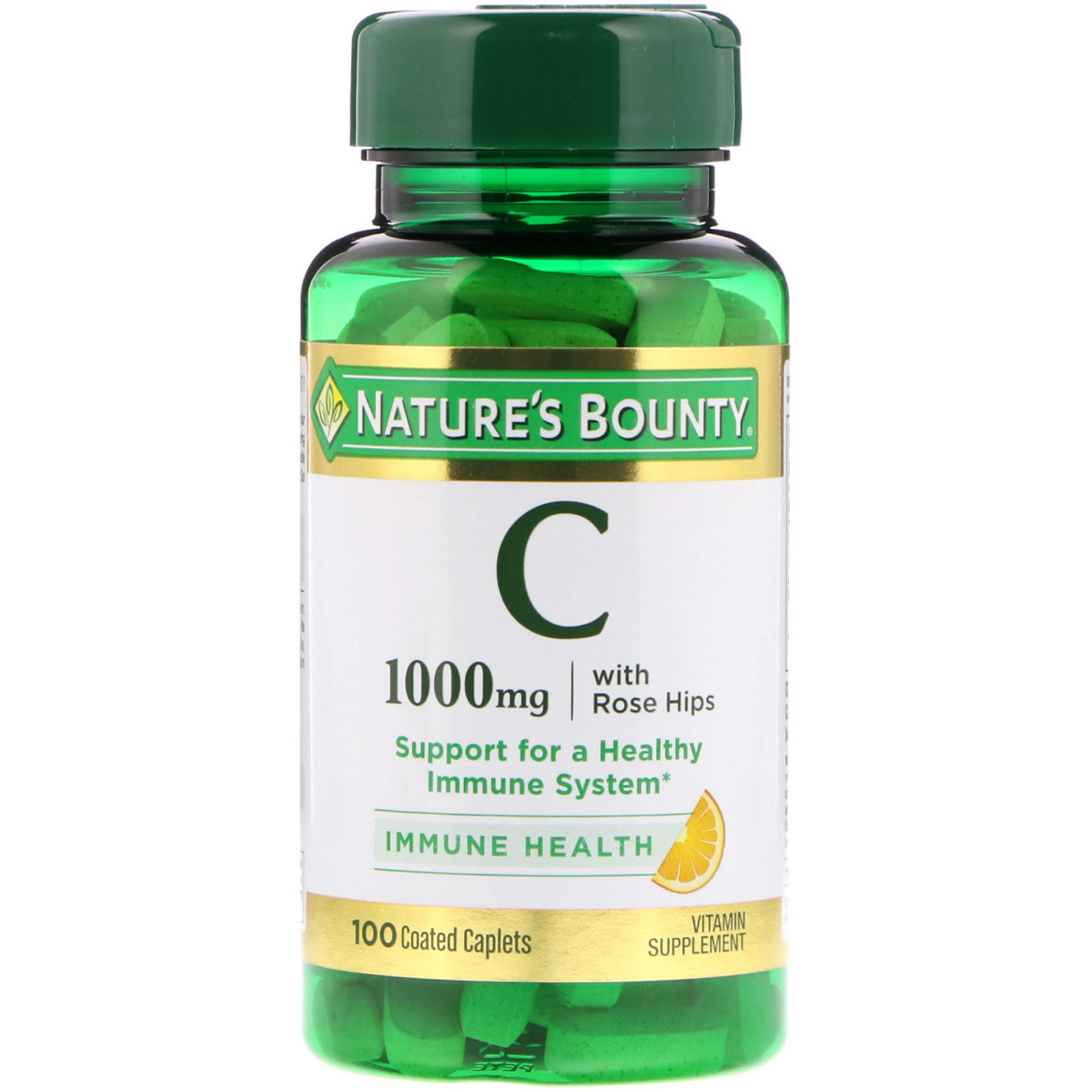 Nature S Bounty Vitamin C With Rose Hips 1000 Mg 100 Coated