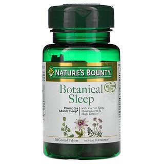 Nature's Bounty, Botanical Sleep, Melatonin Free, 30 Coated Tablets