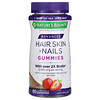 Nature's Bounty, Advanced Hair, Skin, & Nails Gummies, Strawberry, 80 Gummies
