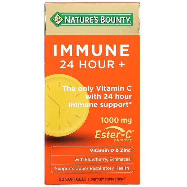 Immune 24 Hour+, 1000 mg, 50 Softgels