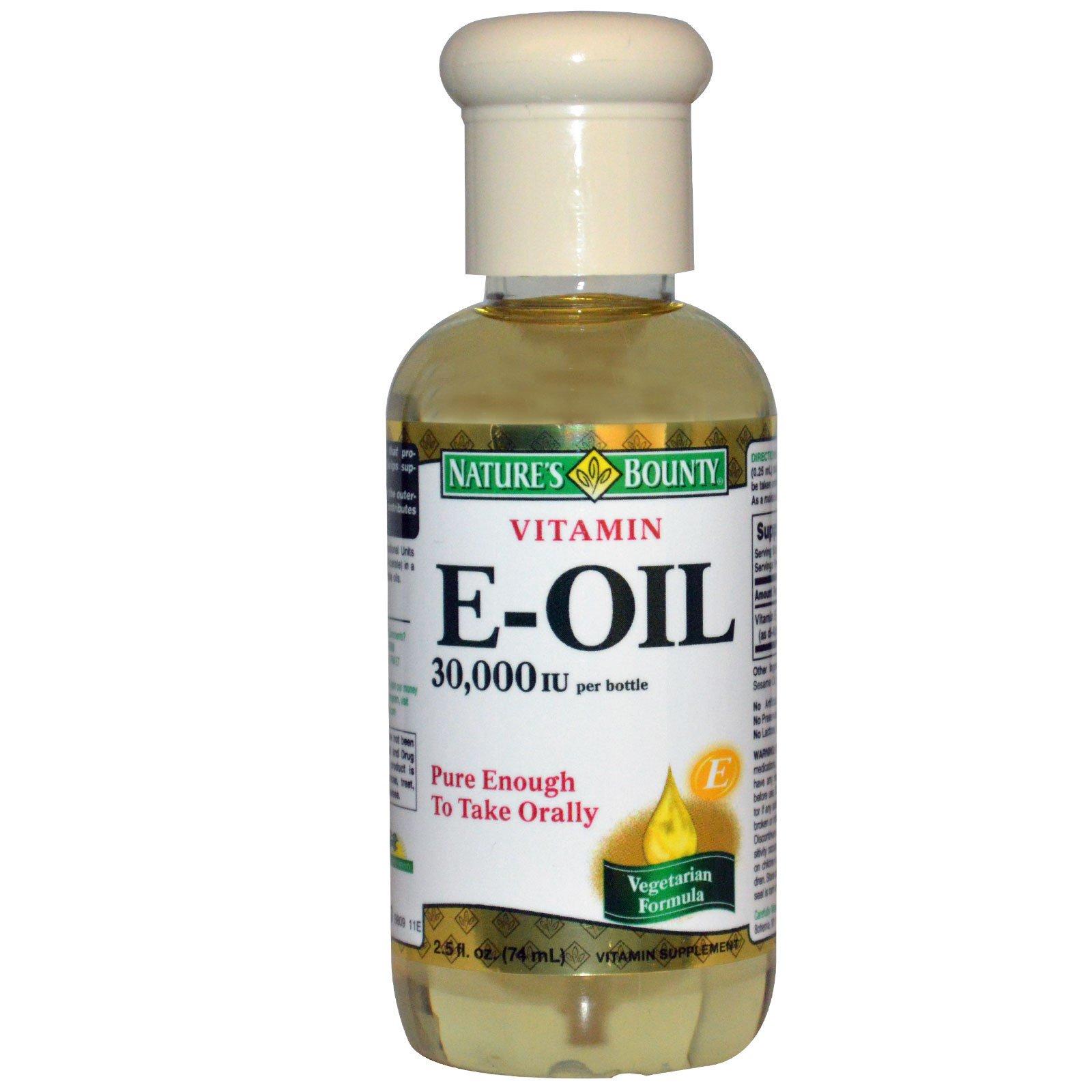 Nature S Bounty E Oil  Iu