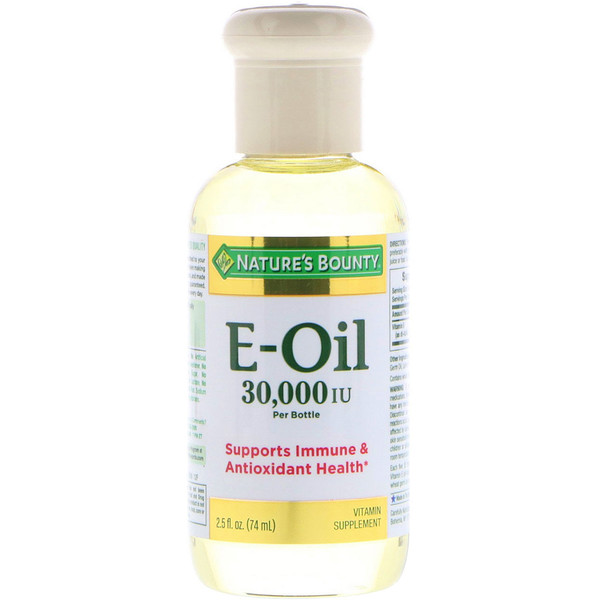Nature's Bounty, Vitamin E-Oil, 30,000 IU, 2.5 fl oz (74 ml)