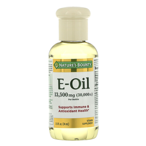 Vitamin E-Oil, 30,000 IU, 2.5 fl oz (74 ml)
