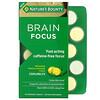 Nature's Bounty, Brain Focus Coolmelts, Match Lemonade, Caffeine-Free, 30 Chewable Tablets