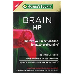 Nature's Bounty, Brain HP, Watermelon , 12 Pouches, 0.5 oz (14.4 g) Each'