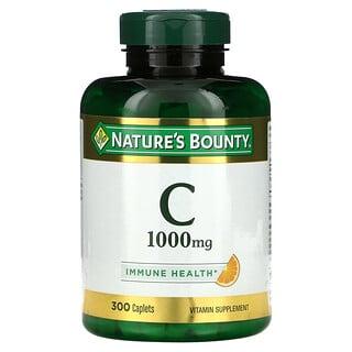 Nature's Bounty, Vitamin C, 1,000 mg, 300 Caplets