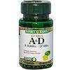 Nature's Bounty, Vitamin A & D, 100 Softgels (Discontinued Item)