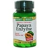 Nature's Bounty, Papaya Enzyme, Natural Digestive Aid, 100 Tablets (Discontinued Item)