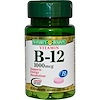 Nature's Bounty, Vitamin B-12, 1000 mcg, 100 Tablets (Discontinued Item)