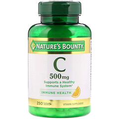 Nature's Bounty, 維生素 C,500毫克,250片