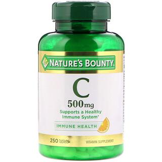 Nature's Bounty, Vitamina C, 500 mg, 150 Cápsulas