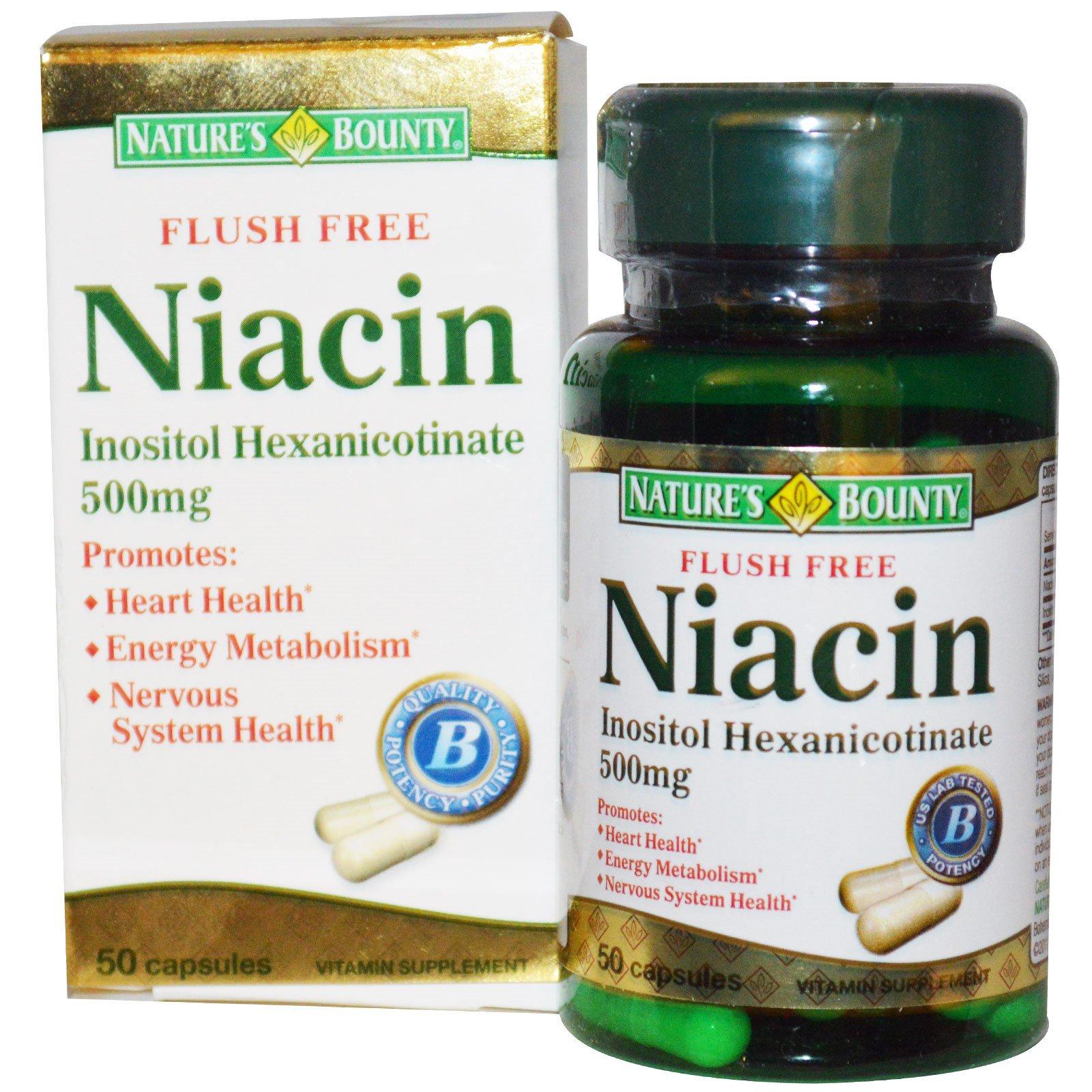 niacin drug test pass instructions