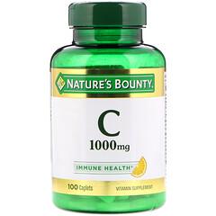 Nature's Bounty, Vitamina C, 1000 mg, 100 comprimidos