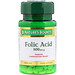 Folic Acid, 800 mcg, 250 Tablets - изображение