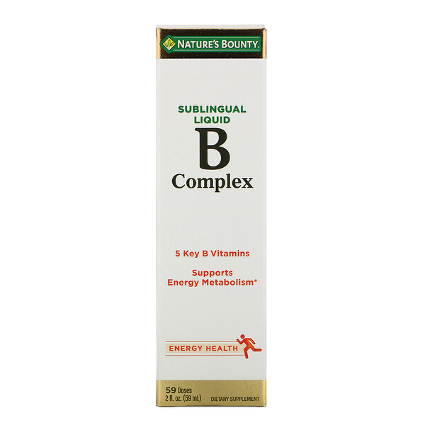 B-Complex, Sublingual Liquid, 2 fl oz (59 ml)