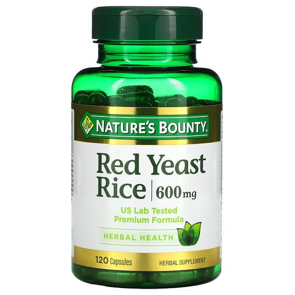 Red Yeast Rice, 600 mg, 120 Capsules