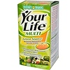 Nature's Bounty, Your Life, Multi Green Source, Multivitamin/Multimineral Specialty Formula, 60 Coated Caplets (Discontinued Item)