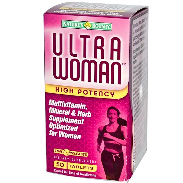 Nature's Bounty, Ultra Woman, High Potency, 50 Tablets (Discontinued Item)