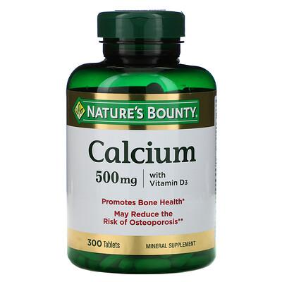 Купить Nature's Bounty Кальций с витамином D3, 300 таблеток